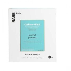 Очищающая Тканевая Маска Rare Paris Carbone Glacé Purifying Face Mask Box 5 шт — RARE Paris Уход за лицом Фотография