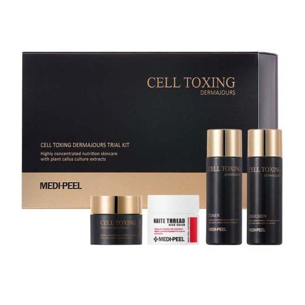 MEDI-PEEL Cell Toxing Dermajours Trial Kit (30*2+10*2ml) Набор миниатюр с лифтинг эффектом Уход за телом Фотография