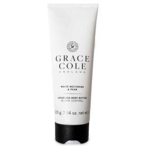 Масло для тела Белый нектарин и груша225гр./White Nectarine & Pear — Grace Cole Уход за телом Фотография