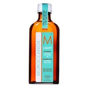 Масло для тонких, светлых волос 100мл  — Moroccanoil Уход за волосами Фотография