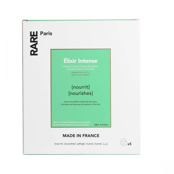 Питательная Тканевая Маска Rare Paris Elixir Intense Nourishing Face Mask Box 5 шт — RARE Paris Уход за лицом Фотография