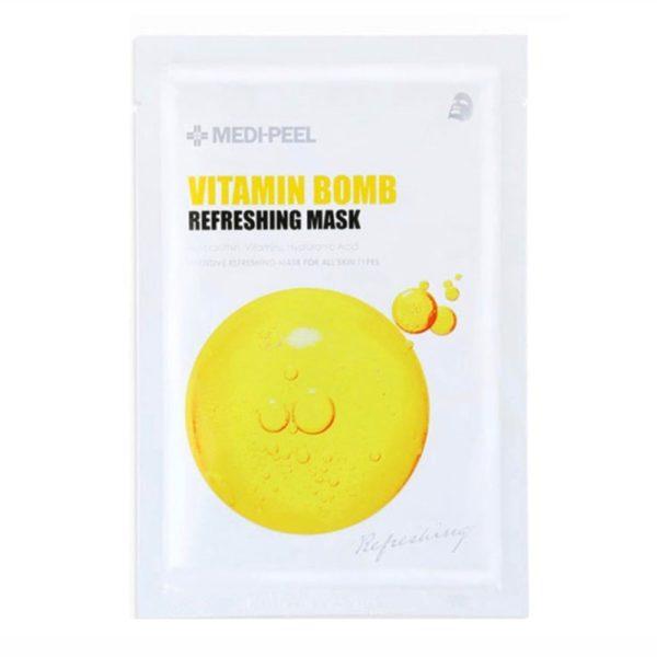 Vitamin Bomb (25ml) Освежающая маска с витаминным комплексом — MEDI-PEEL Уход за лицом Фотография