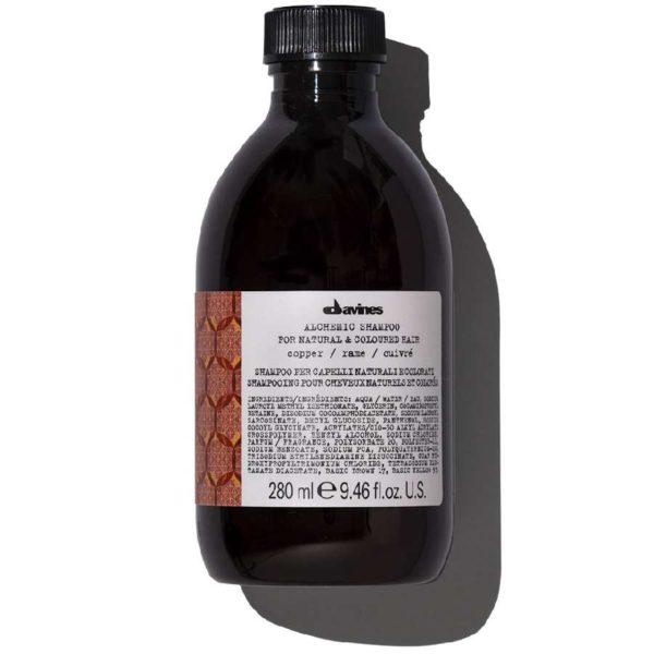 ALCHEMIC SHAMPOO Шампунь «АЛХИМИК» для натуральных и окрашенных волос (медный) — Davines Уход за волосами Фотография