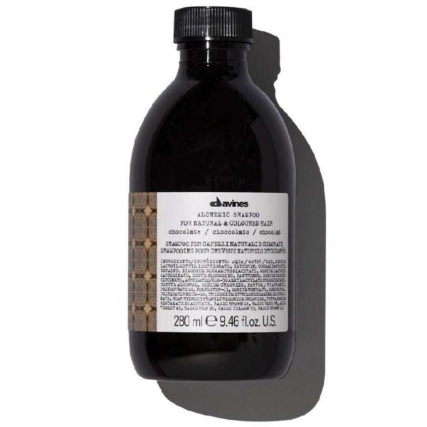 ALCHEMIC SHAMPOO  Шампунь «АЛХИМИК» для натуральных и окрашенных волос (шоколад) — Davines Уход за волосами Фотография