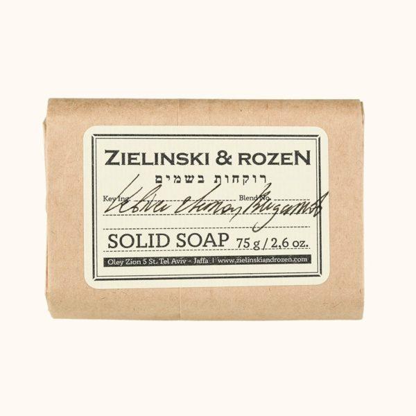 Твердое мыло Ветивер, Лимон, Бергамот (75гр) — Zielinski & Rozen Уход за телом Фотография