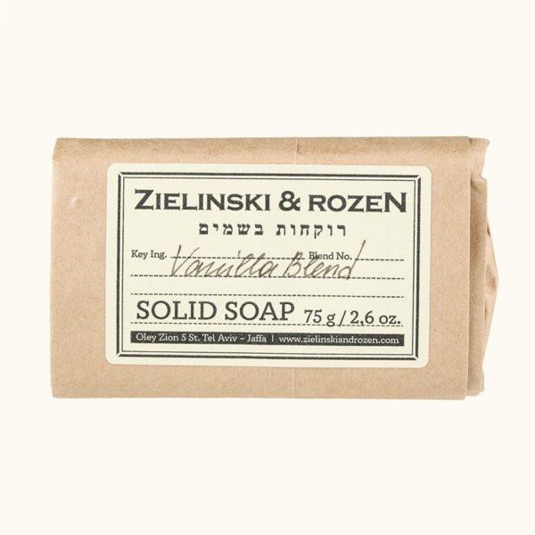 Твердое мыло Ванильный Бленд (75гр) — Zielinski & Rozen Уход за телом Фотография
