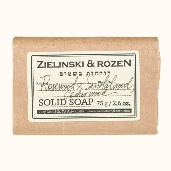 Твердое мыло Палисандр, Сандал, Кедр (75гр) — Zielinski & Rozen Уход за телом Фотография