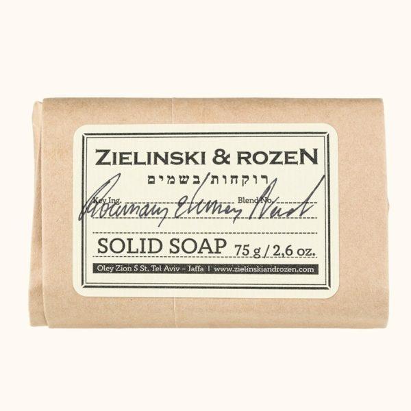 Твердое мыло Розмарин, Лимон, Нероли (75гр) — Zielinski & Rozen Уход за телом Фотография