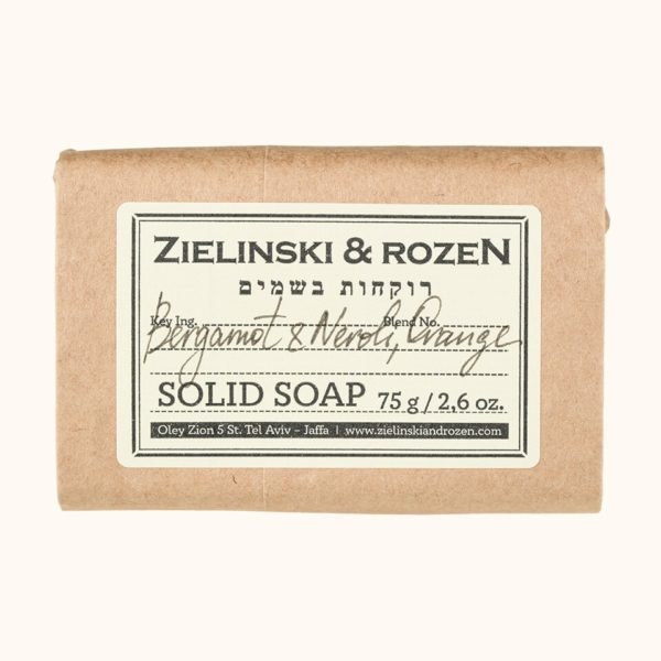 Твердое мыло Бергамот, Нероли, Апельсин (75гр) — Zielinski & Rozen Уход за телом Фотография