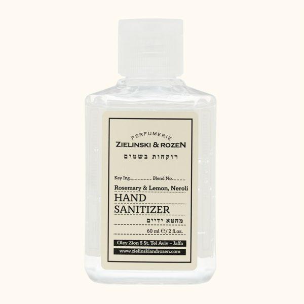 Санитайзер Гель для рук Розмарин, Лимон, Нероли (60мл) — Zielinski & Rozen Уход за телом Фотография