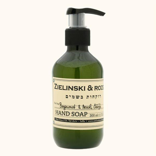 Жидкое мыло Бергамот, Нероли, Апельсин (300мл) — Zielinski & Rozen Уход за телом Фотография