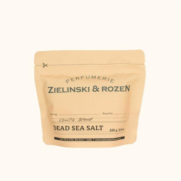 Соль мертвого моря Ванильный Бленд (250гр) — Zielinski & Rozen Уход за телом Фотография
