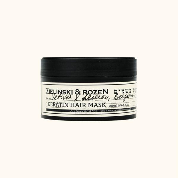 Кератиновая маска для волос Ветивер, Лимон, Бергамот (200мл) — Zielinski & Rozen Уход за волосами Фотография