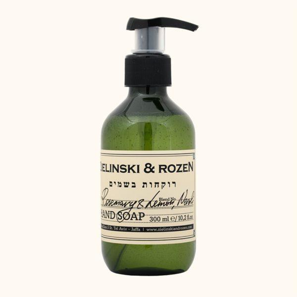 Жидкое мыло Розмарин, Лимон, Нероли (300мл) — Zielinski & Rozen Уход за телом Фотография