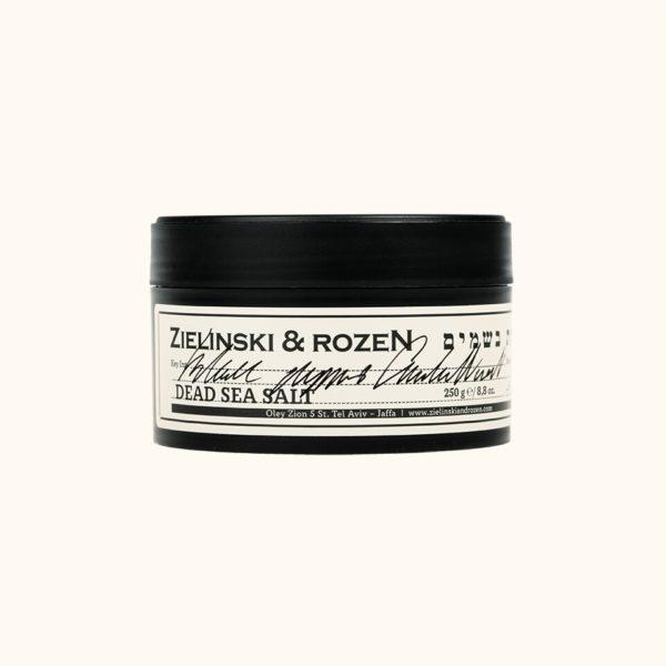 Соль мертвого моря Черный перец, Амбра, Нероли (250гр) — Zielinski & Rozen Уход за телом Фотография