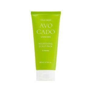 Питательная маска для кожи головы с маслом авокадо и экстрактом банана 200 мл — Rated Green Уход за волосами Фотография