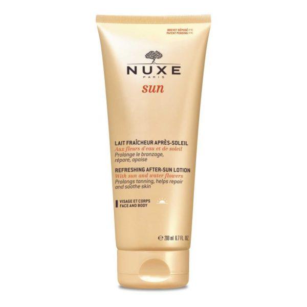 Освежающее молочко для лица и тела после загара SUN 200 ml — Nuxe Уход за телом Фотография