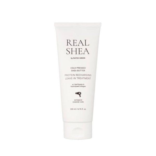 Восстанавливающий крем для волос с маслом ши 150 мл — Rated Green Уход за волосами Фотография