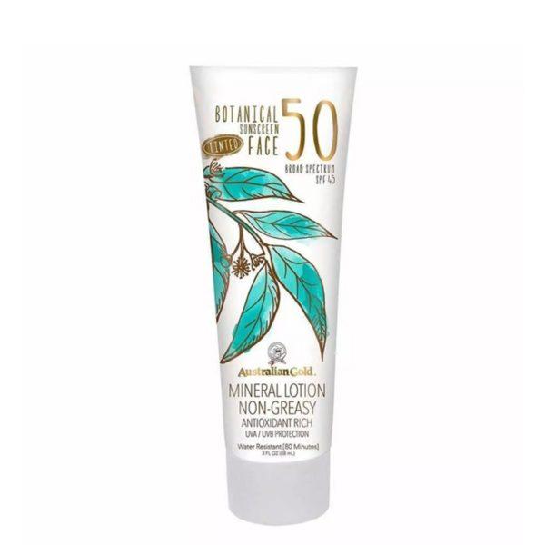 Botanical SPF 50 Tinted Face Fair Light 88 ml — Australian Gold Уход за телом Фотография
