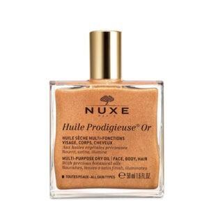 Мерцающее сухое масло для лица ,тела и волос Huile Prodigieuse Or 50 ml — Nuxe Уход за телом Фотография