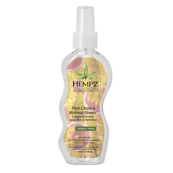 Спрей увлажняющий розовый лимон и мимоза HEMPZ Уход за телом Фотография