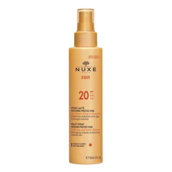 Солнцезащитное молочко для лица и тела SUN SPF20 — NUXE Уход за телом Фотография