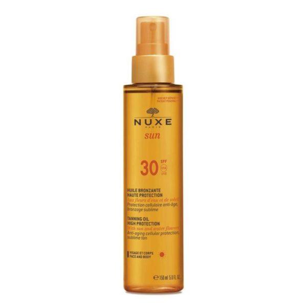 Солнцезащитное масло для загара для лица и тела SUN SPF 30 150мл — NUXE Уход за телом Фотография
