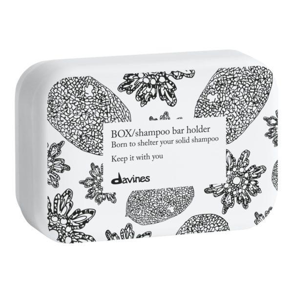 Жестяная коробка для твердого шампуня — Davines Уход за телом Фотография