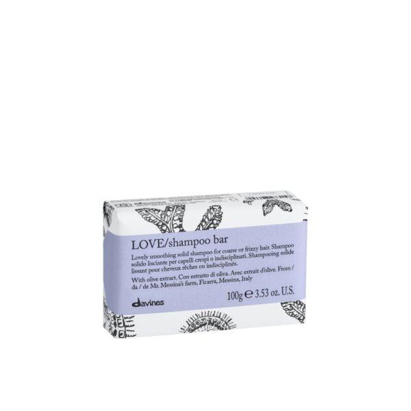Твёрдый шампунь LOVE для разглаживания завитка 100гр — Davines Уход за телом Фотография
