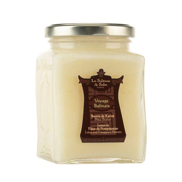 Масло ореха карите лотос/франжипани — La Sultane de Saba Уход за телом Фотография