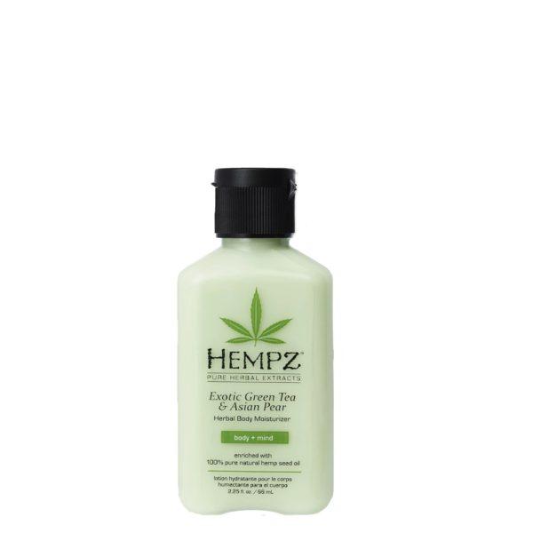 Молочко для тела увлажняющее Зеленый чай&Груша 66мл — Hempz Уход за телом Фотография