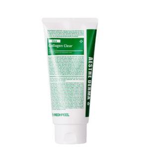MEDI-PEEL Green Cica Collagen Clay mask — Успокаивающая очищающая пенка 300ml Уход за лицом Фотография