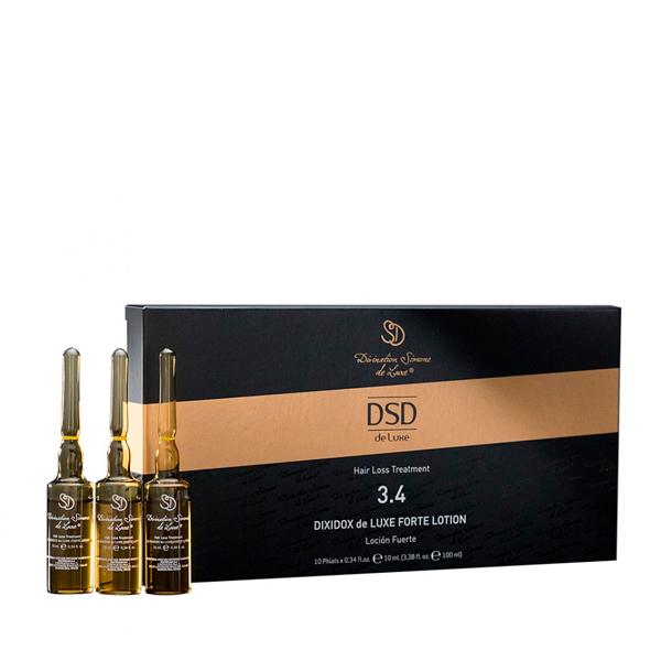 Лосьон Диксидокс Де Люкс форте Dixidox de Luxe forte lotion 10 амп х 10 мл — DSD Уход за волосами Фотография